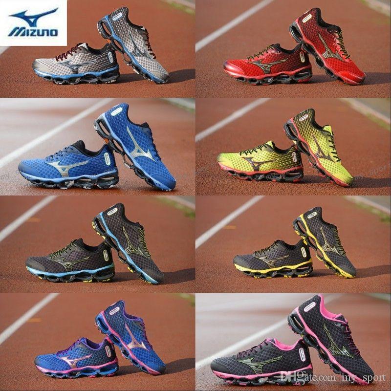 390e1f554 Compre 2018 Chegam Novas MIZUNO WAVE PROPHECY 4 Homens Mulheres Designer De  Esportes Tênis De Corrida Sneakers Mizunos 4 S Mens Casual Formadores  Tamanho 36 ...