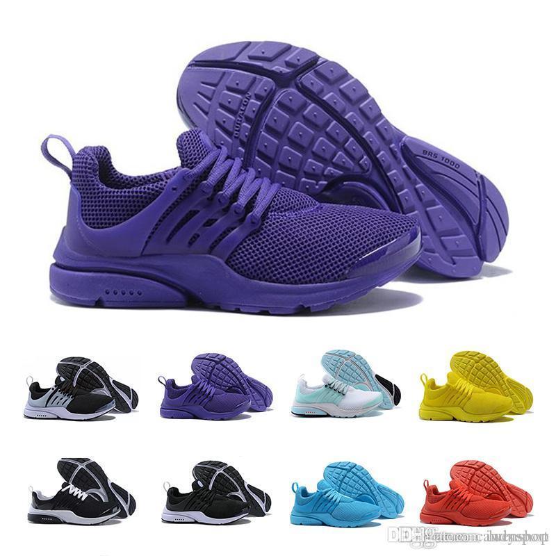 sports shoes 88760 59dc5 Acquista 2019 Nike Roshe Free Run TOP PRESTO 5 BR QS Breathe Nero Bianco  Giallo Rosso Uomo Scarpe Sneakers Donna Scarpe Da Corsa Hot Uomo Scarpe  Sportive ...
