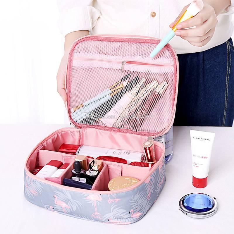 Women Makeup Bag Cosmetic Bag Case Make Up Organizer Toiletry ... cbf9d84a3b926