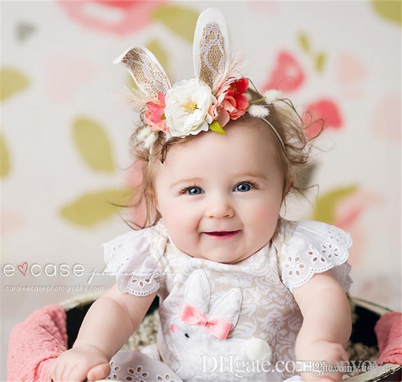 Großhandel Neue Baby Stirnbänder Bunny Mädchen Katze Ohr Stirnband ...