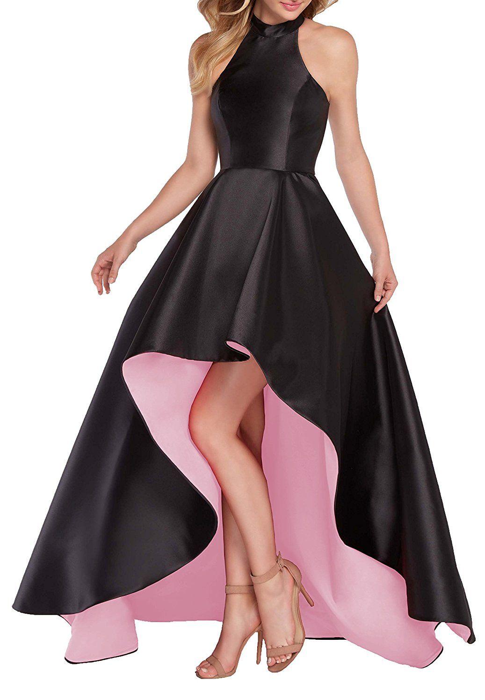 Halter Satin Prom Robes