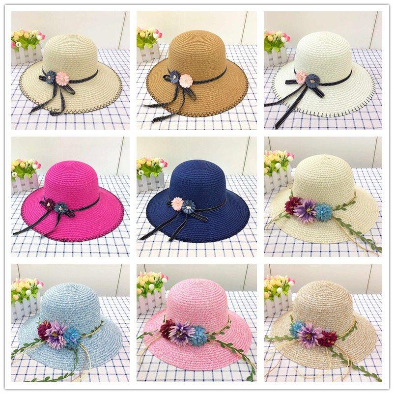 3fb9b9e089b Beach Hats Lady Straw Hats Women s Caps Wide Brim Hats Korean ...