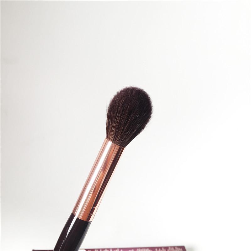 فرشاة شارلوت - بودرة سكولبت - فرشاة شعر الماعز الناعمة - تمييز مكياج