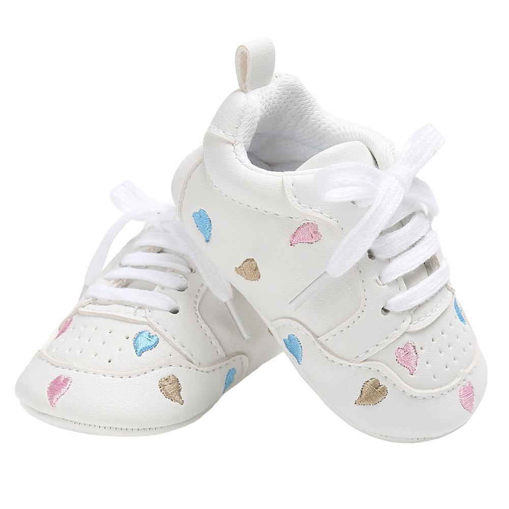 b2bb500edee Compre Zapatos Casuales Para Niñas Zapatillas Para Niños Planos Para Niños  Con Cordones Recién Nacidos Ropa Para El Hogar Tenis Infantil Mocasines De  Cuero ...