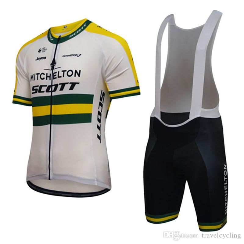 f6e1733c0c9 2018 SCOTT Pro Team Cycling Jersey Bib Shorts Sets New Arrivals MTB Bike  Jersey Bicycle Wear Breathable Men Cycling Gear Sportswear H1001 Cycling  Short ...