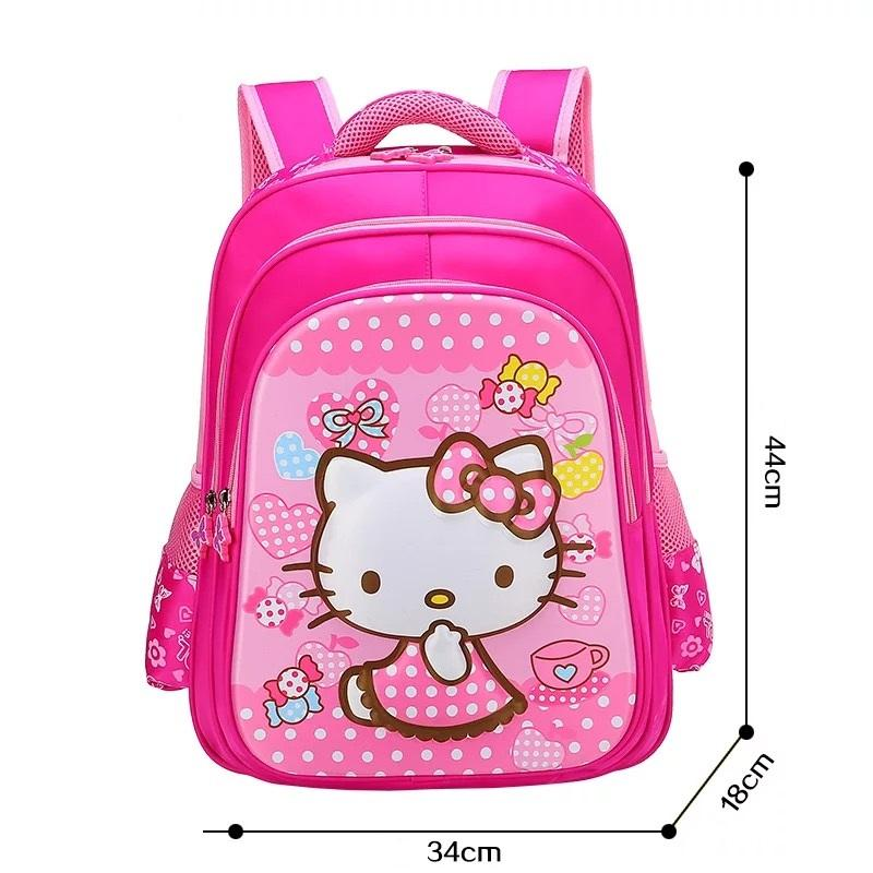 010614709831 Children Hello Kitty School Bag For Girls Cartoon Backpack Bags School Backpacks  Schoolbag Bags Lovely Kids Book Bag Man Bags Jute Bags From Dryaet