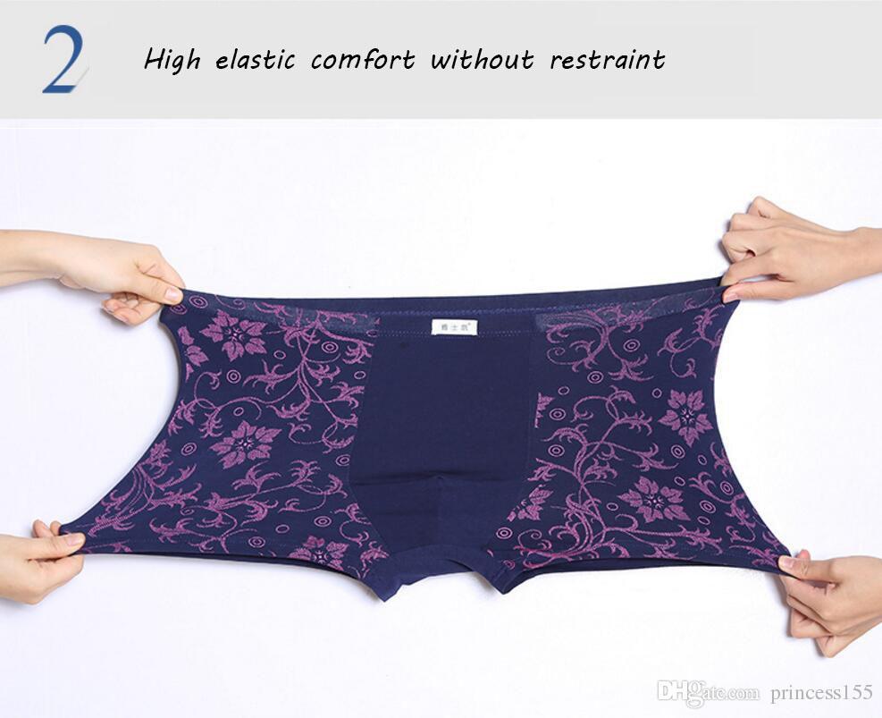 Neue Marke Sexy Männer Unterwäsche Baumwolle Unterwäsche Männer Boxer Mode Boxer Shorts Männer Unterhose Boxershort Männliche Höschen