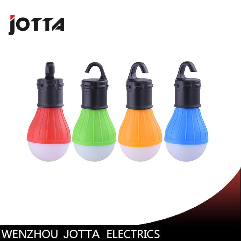 Portable Outdoor Hanging 3led Camping Lantern Soft Light Led Camp Lights Bulb Lamp For Camping Tent Fishing Aaa Battery Portable Lanterns
