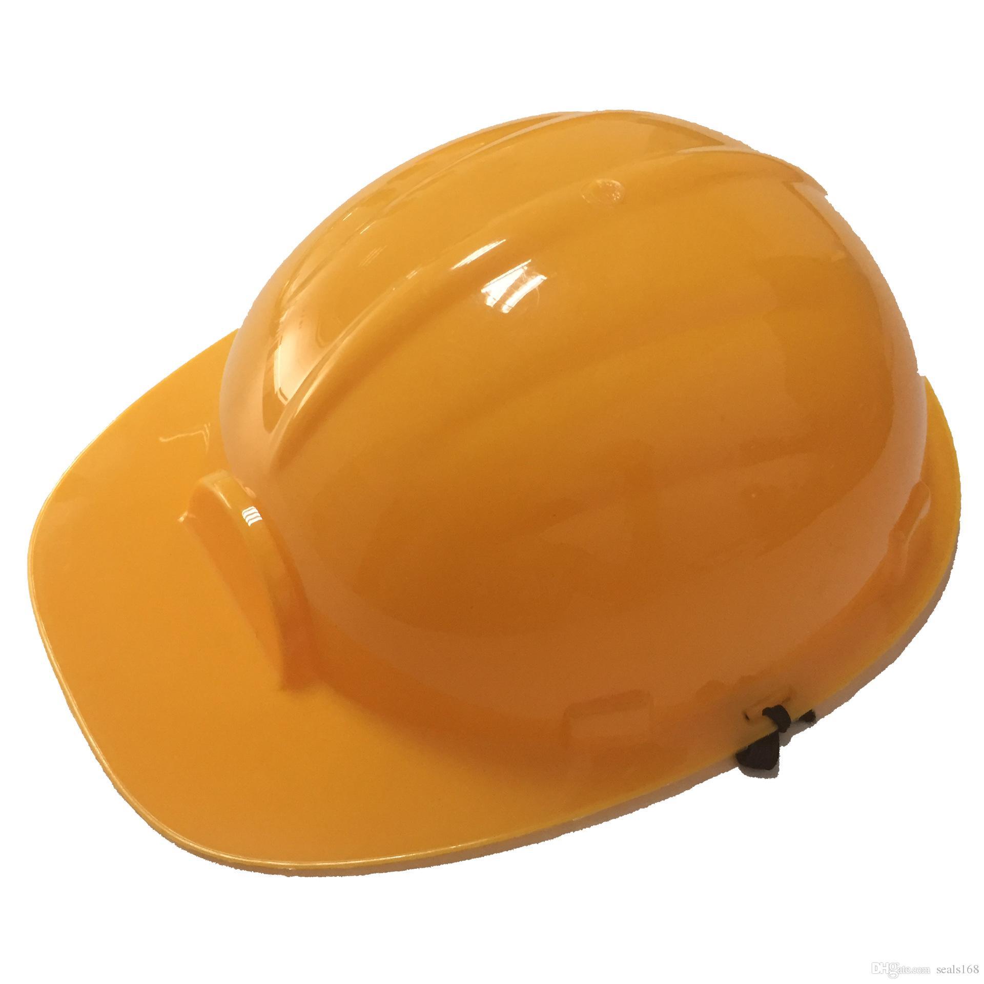 Enfants Dress Up Soft Construction En Plastique Chapeaux Dur Accessoire Pour Enfants Construction De Bâtiment Thème Drôle Party Favors Jouets Hat HH7-428