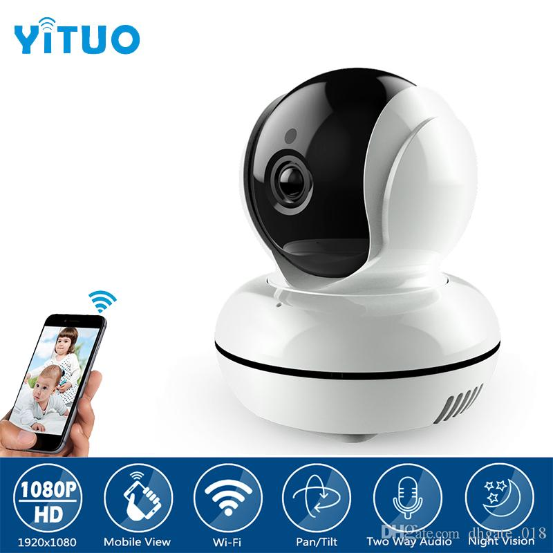 88a5bf1ca59 360 Degree View 1080P HD IP Camera Two Way Voice Night Vision Motion  Detection WIFI Wireless Home Security Camera YITUO Monitoring Cameras  Monitoring ...