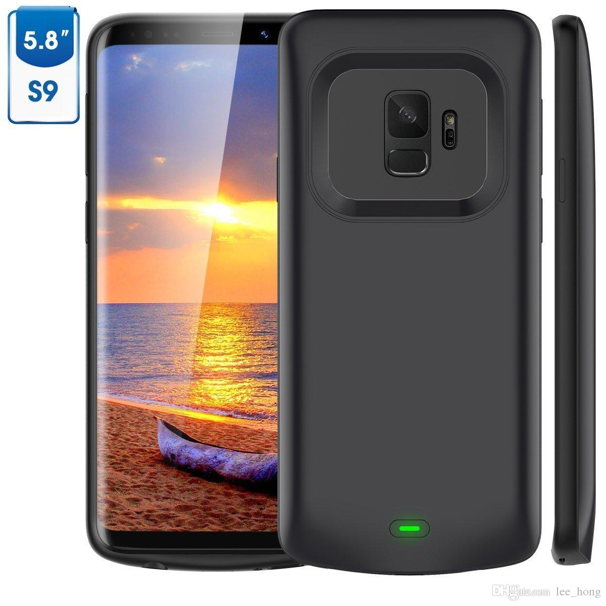 For Galaxy S9 Battery Case 4700mAh Charger Case External Portable Extended  Charging Case for samsung S9 Plus 5200mAh Protective Backup Juice