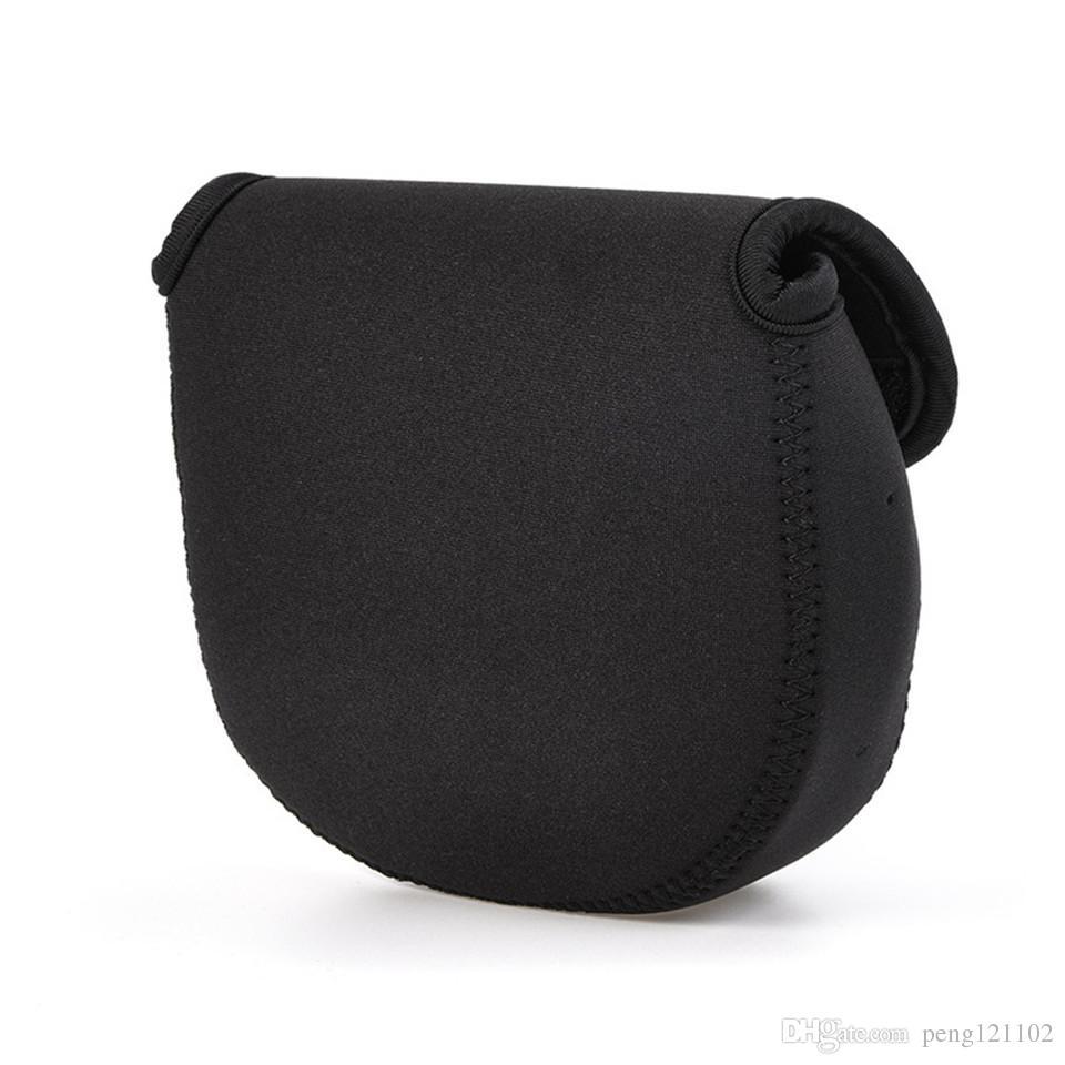 New Upscale Neoprene Fishing Spinning Reel Pouch Baitcasting Fishing Reel Bag Custodia protettiva Cover Holder
