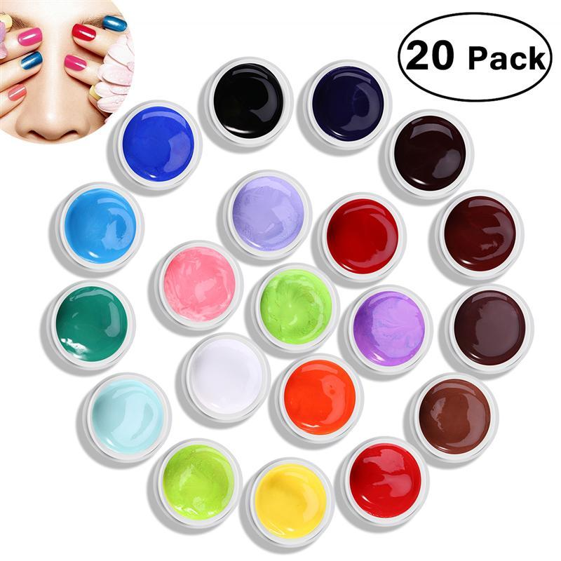 Beauty Uv Color Gel Uv Builder Gel Nail Kit Nail Art Decoration Gel ...