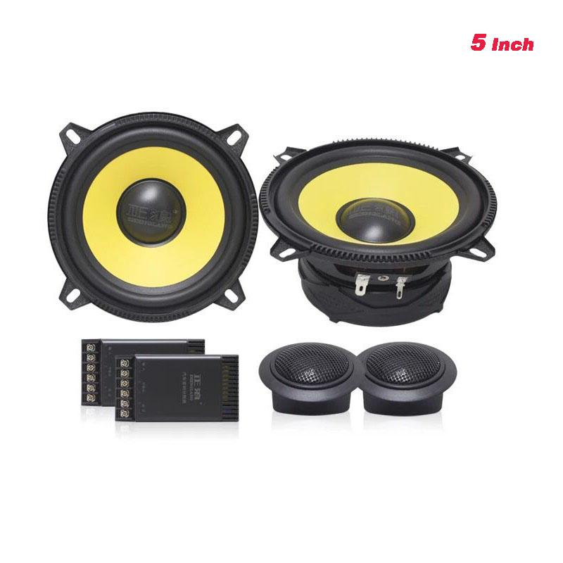 High End Quality 5inch Car Audio Speaker Sets With Dome Tweeter