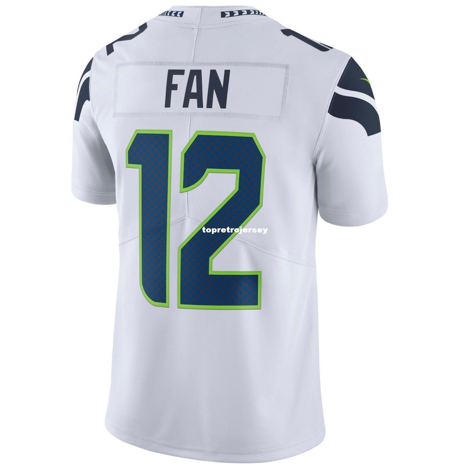 2019 Cheap Stitching Custom Top SS Man MF  12 WHITE Vapor Untouchable  Limited Edition Jersey Big And Tall Size XS 4XL 332c89afb
