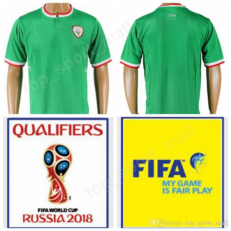 sneakers for cheap 4ec12 e3a10 Soccer Jersey Ireland Footbal Shirt Green Color Thai 10 KEANE 9 LONG 2  COLEMAN 13 HENDRICK 11 McCLEAN Personalized Quality 2018 World Cup