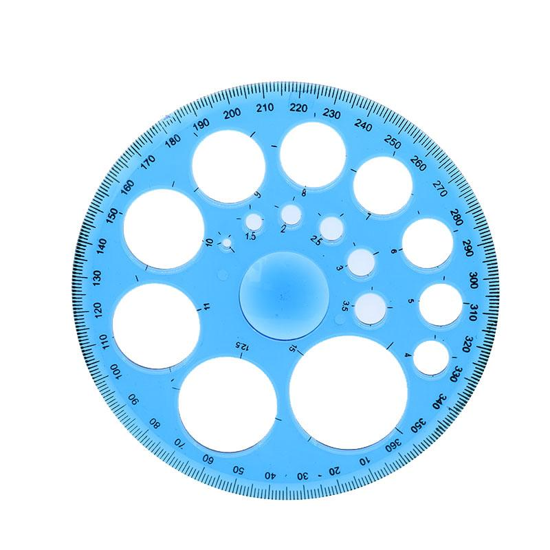 2018 new tool 360 degrees 11 5 cm diameter circular template ruler