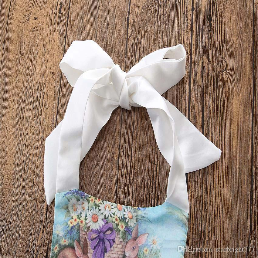 Малыша Печатных цветочных Rompers Infant ребёнка цветка Комбинезоны Babies лето Холтер Ползунки Детская одежда