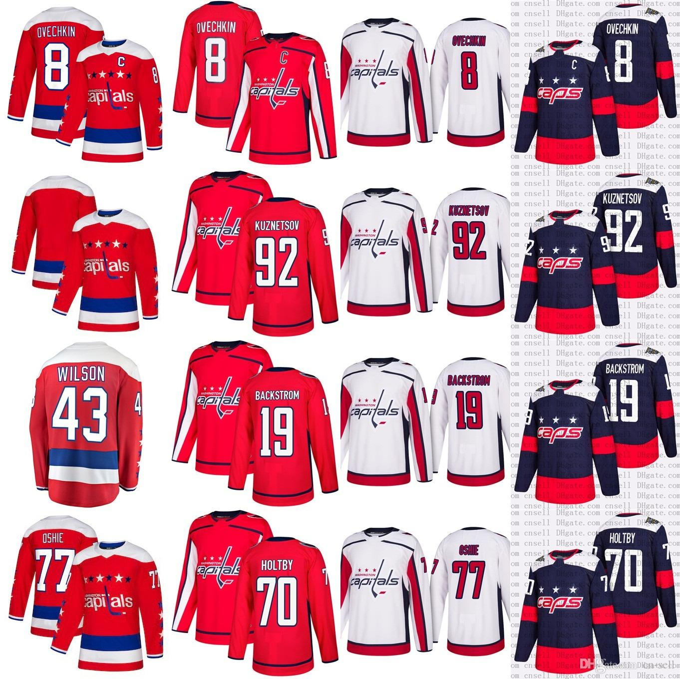 2019 2019 New Alternative Washington Capitals Alex Ovechkin TJ Oshie 70  Braden Holtb Kuznetsov Tom Wilson Backstrom Stadium Series Hockey Jersey  From Cn ... a8478ddf5