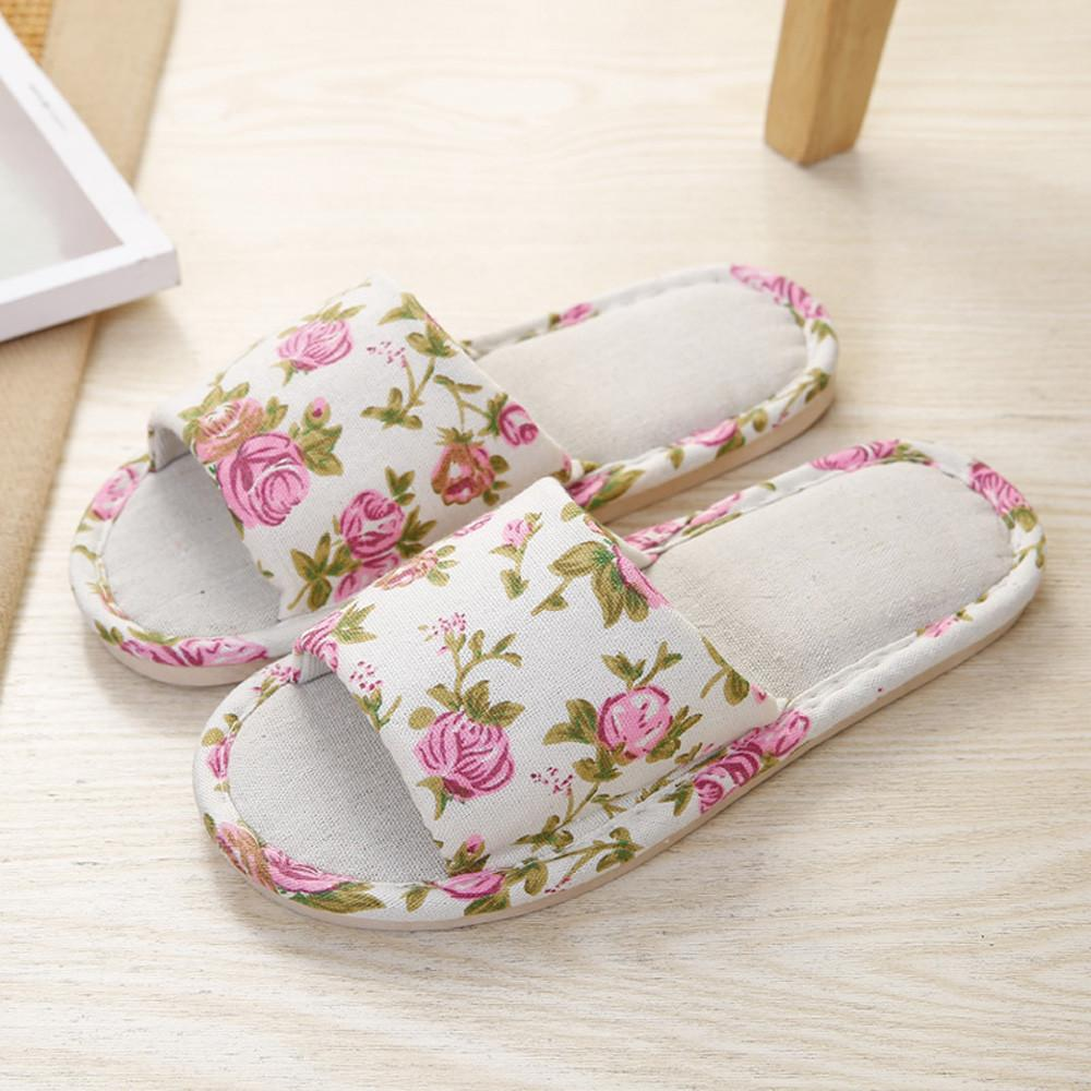 6d5219182bb2 Fashion Women Hemp Household Shoes Platform Flops Slippers Sandals Home  Slippers Zapatos Mujer Schoenen Vrouw Sapatos Mulher  W2 Online with   33.09 Piece on ...