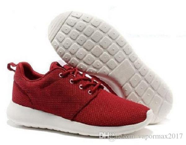 nike roshe run one 2018 Yeni Londra Klasik Koşu Ayakkabıları erkekler siyah düşük çizmeler Hafif Nefes Londra Olimpiyat Spor Sneakers Eğitmenler boyutu 36-45