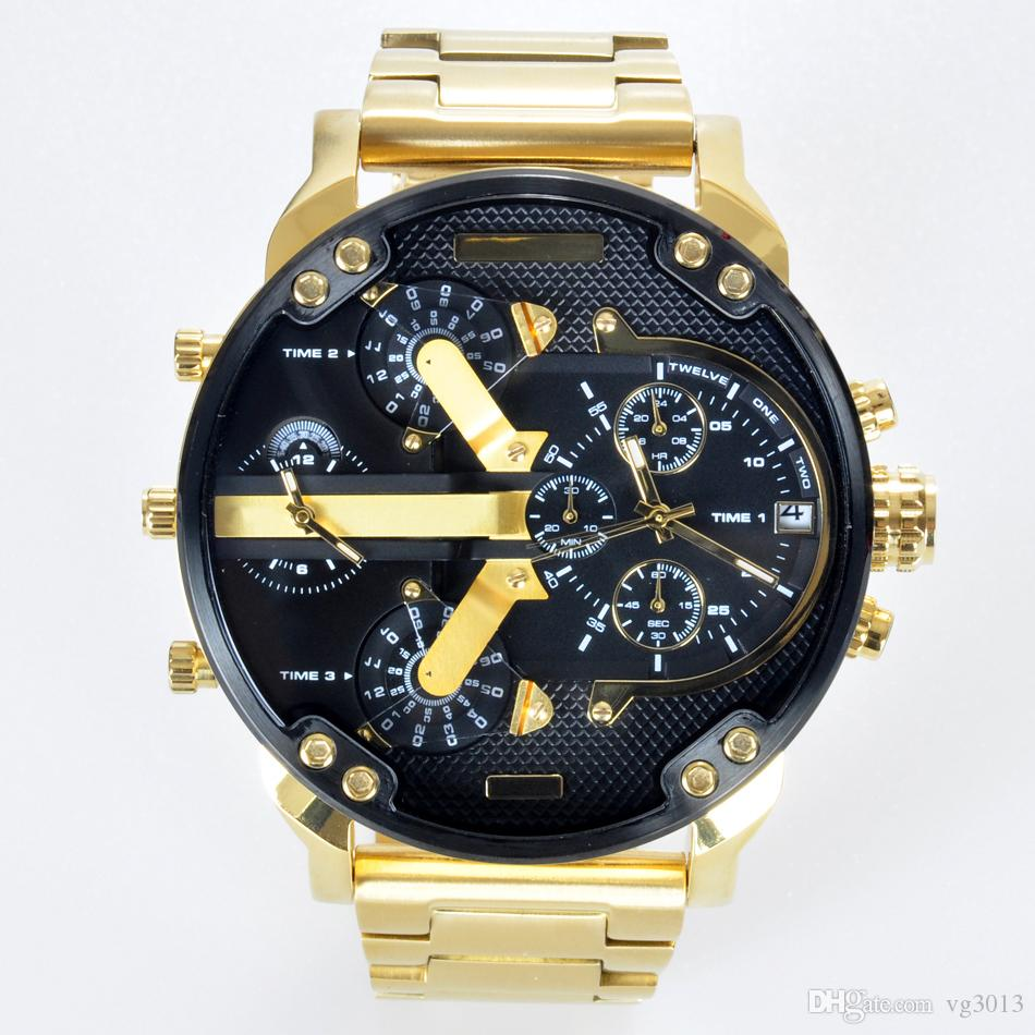 1e92e2f4ca8f Compre 2019 Militares De Lujo Montres Para Hombre Nuevo Reloj Original Gran  Dial De Visualización De Relojes Diésel Reloj Dz7333 DZ7332 DZ7348 DZ7350  DZ7344 ...