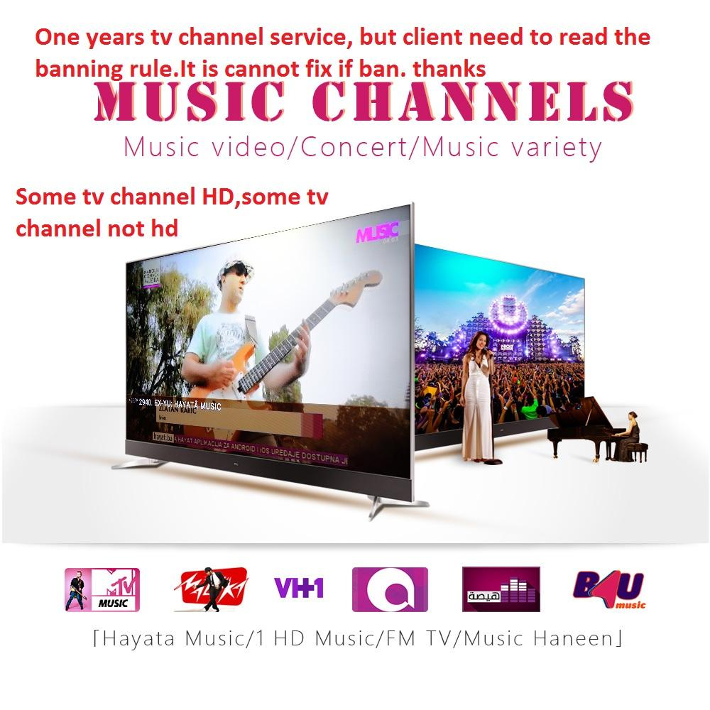 1 Year subtv tv CHANNEL subscription Europe US Channels use for android tv  box M3U