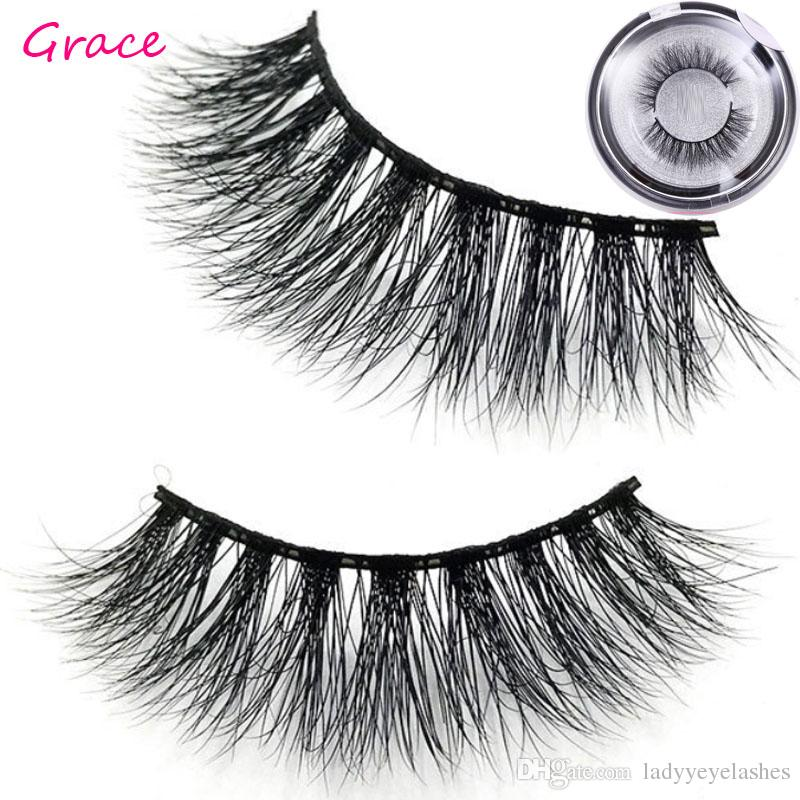 Mink Eyelashes 3D Mink Hair Lashes Wholesale Mink Handmade sexy Lashes Thick Lash large quantity in stock dropshipping