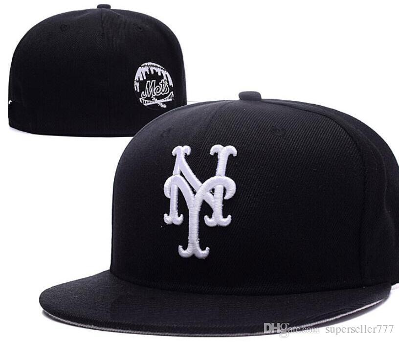 Fitted Hats Sunhat New York Hat NY Cap Team Baseball Embroidered ... c0d1dc25e5