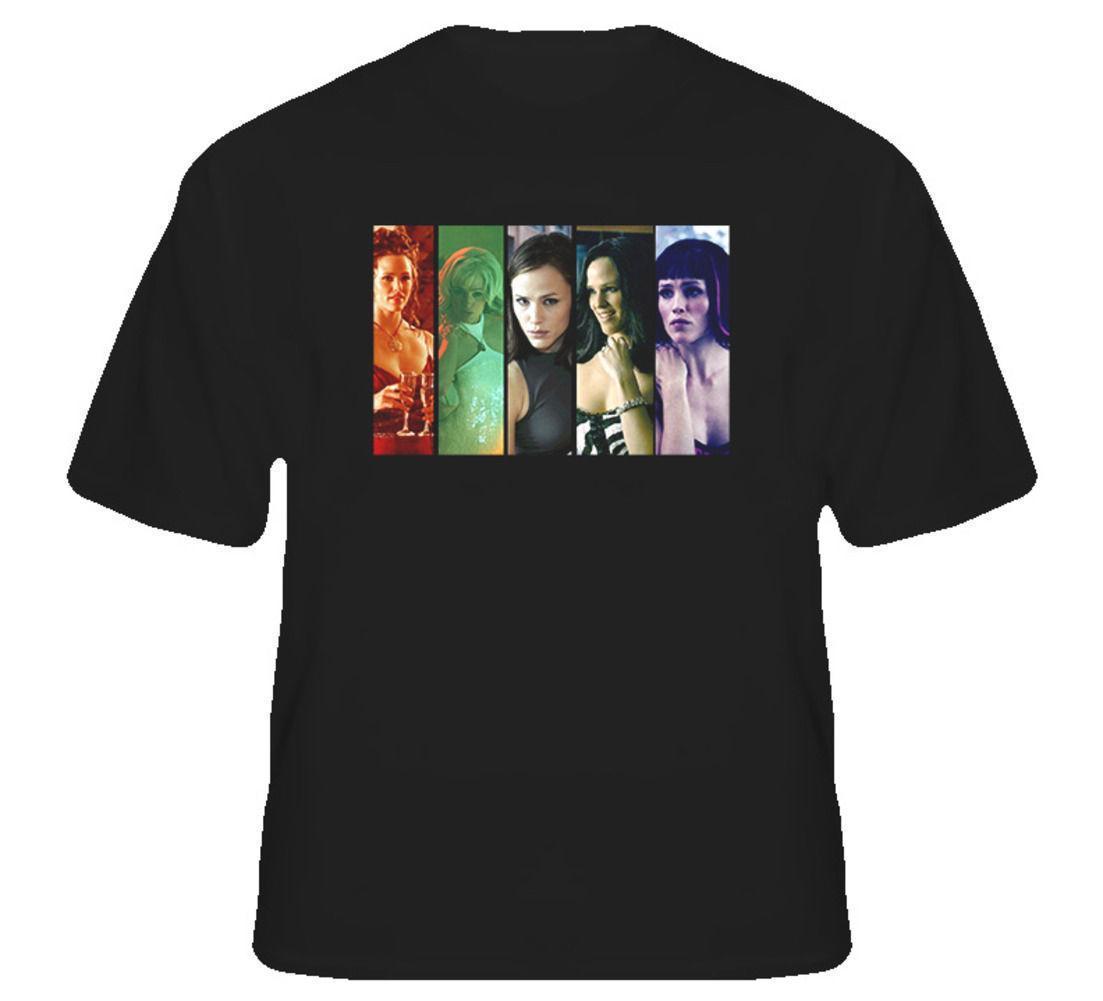 Alias Sydney Bristow Tv Show Cia Agent Retro T Shirt Business Tee