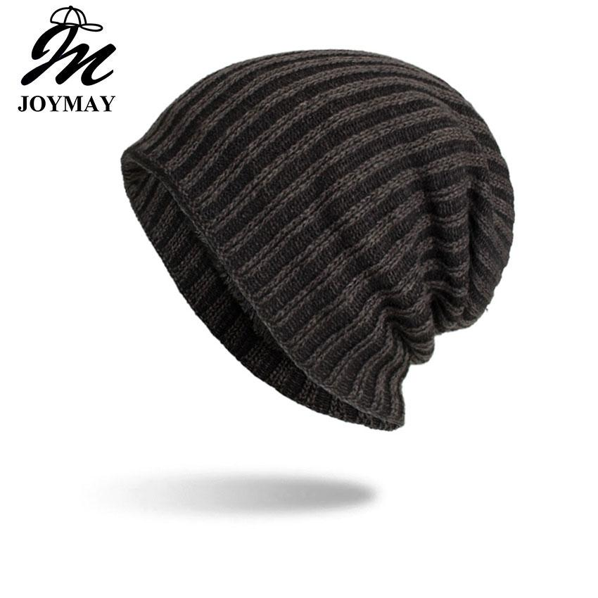 d248df75464 Joymay 2018 New Winter Beanies Hat Unisex Plain Warm Soft Skull Knitting Cap  Hats Gorro Caps For Men Women Dropshipping WM094 Baby Hat Crochet Baby Hats  ...