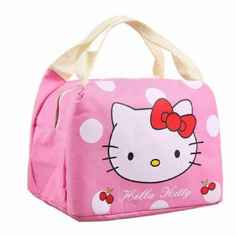 Hello Kitty Thermal Picnic Cooler Insulated Portable Lunch Box Bag Travel  White Handbags Fashion Bags From Wearbag 2f7efa151d781