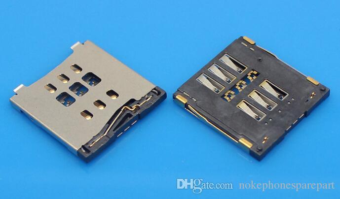 Modelle Micro SIM Kartenleser für Iphone 5 5c 5S 6 6 plus SIM Tray Slot Socket Ersatzstecker