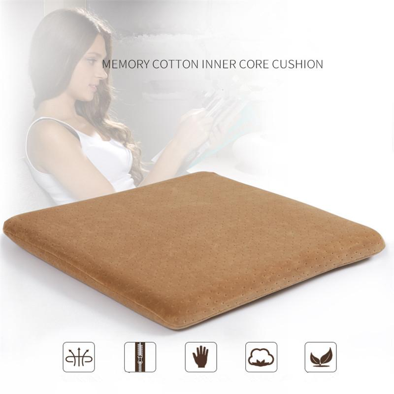 Modern Office Square Seat Cushions Memory Foam Student Chair Sofa Cushions  Car Beauty Hip Mat Removable Washable Chair Cushion Oversized Outdoor  Cushions ...