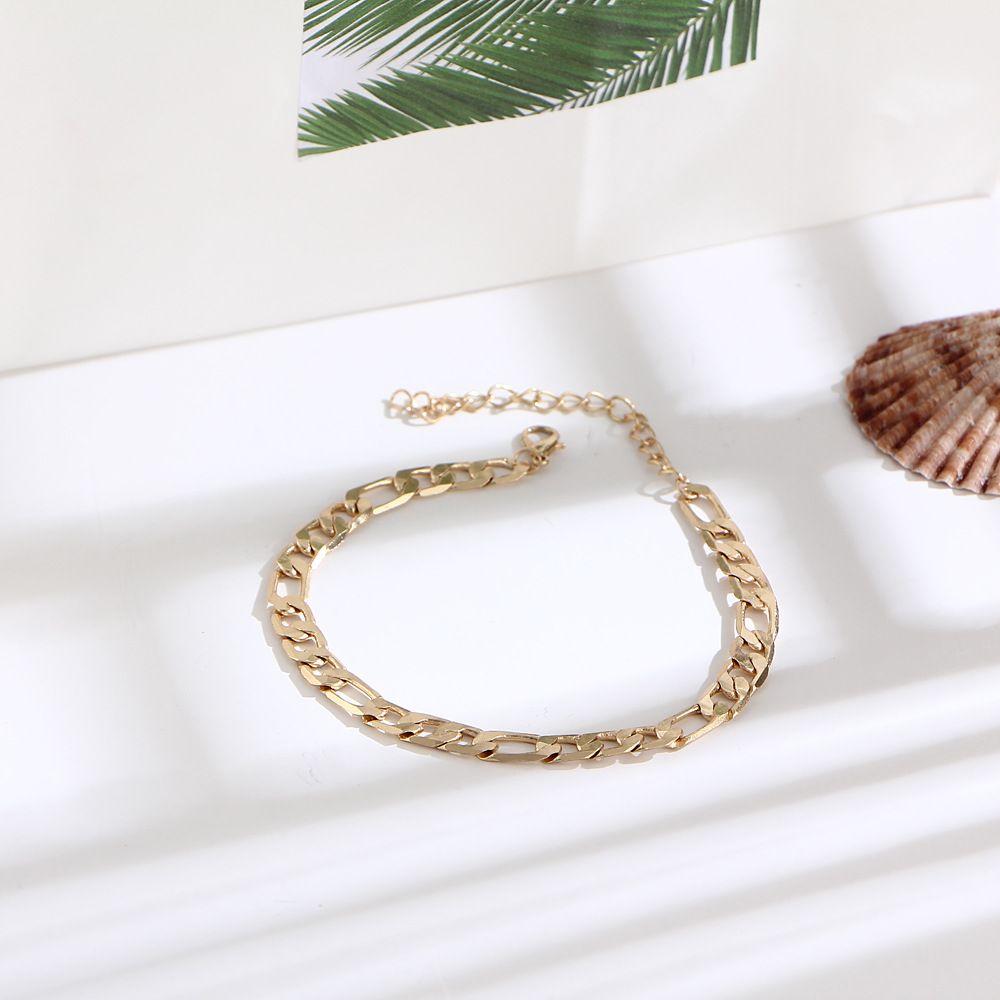 Moda Yaz Ayak Zincir Maxi Zincir Ayak Bileği Bilezik Altın Halhal Halhal Yalınayak Sandalet Plaj Ayaklar Takı Aksesuarları