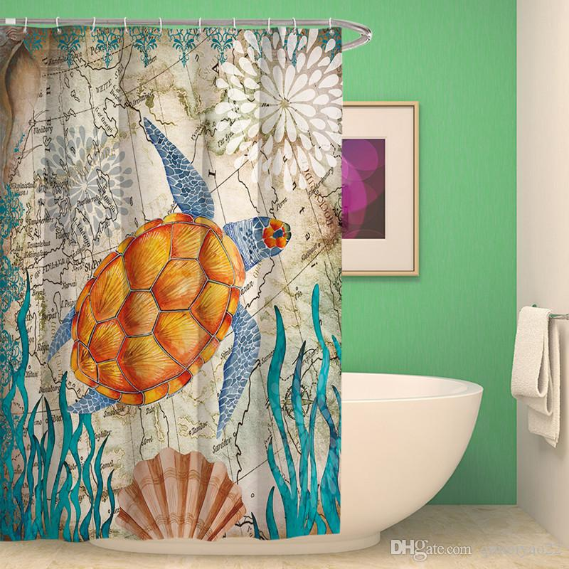 Cheap 3d Bathroom Shower Curtains Best Led