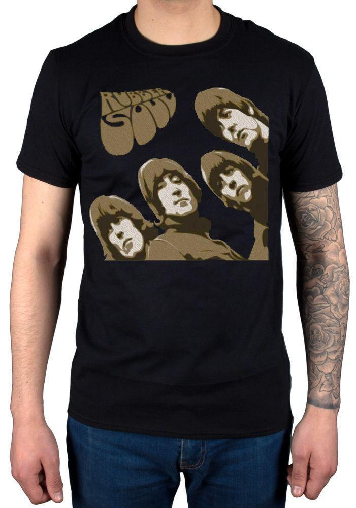 ac4bb678fc2f Official The Beatles Rubber Soul Sketch T Shirt Palladium Abbey Road Merch  Loose Cotton T Shirts For Men Cool Tops T Shirts T Tee Shirts T Shirt Shirts  From ...