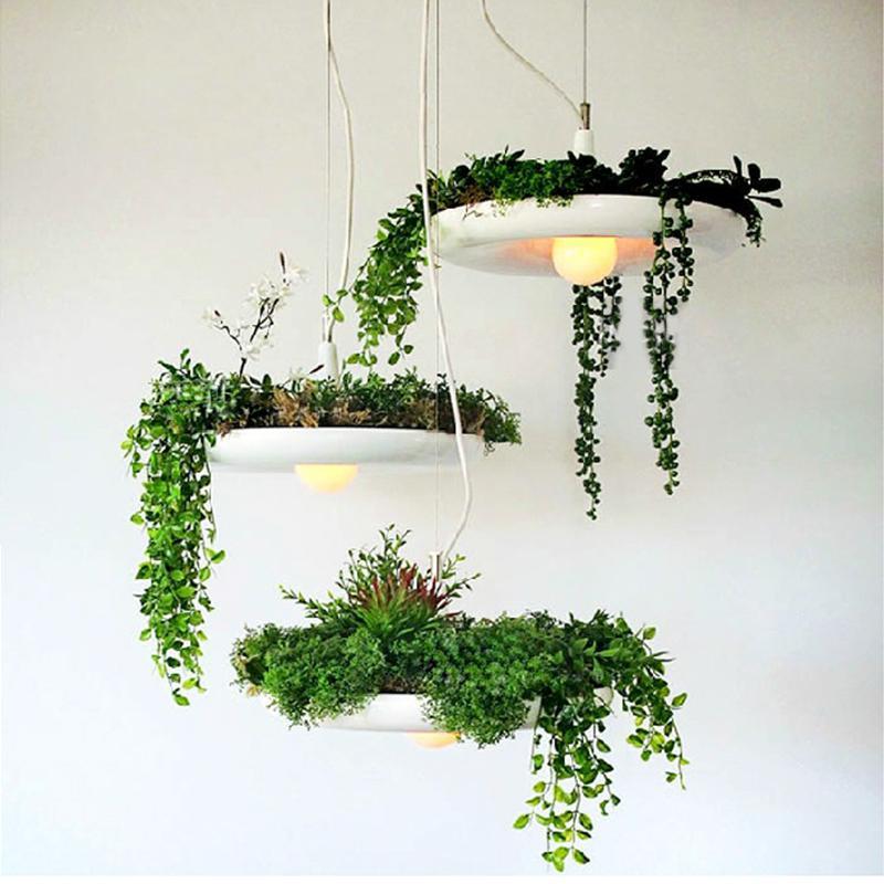 Pflanzen Hängend großhandel led hängenden gärten von babylon pflanzen lampentöpfe