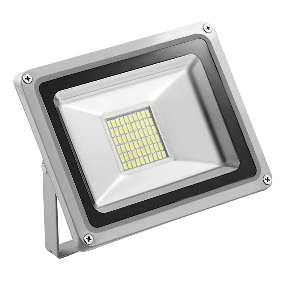 GERUITE 30W Proiettore a LED 220V 5730 SMD 3300 LM Proiettori LED Flood Lamp per insegne Stadium Square Billboard Parking Building