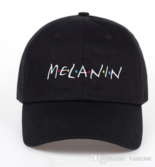 70e7ea3d5b4d7 New Arrival MELANIN Letter Embroidery Baseball Cap Women Snapback Hat  Adjustable Men Fashion Hats Wholesale Snapback Hat Baseball Cap Fashion Hats  Online ...