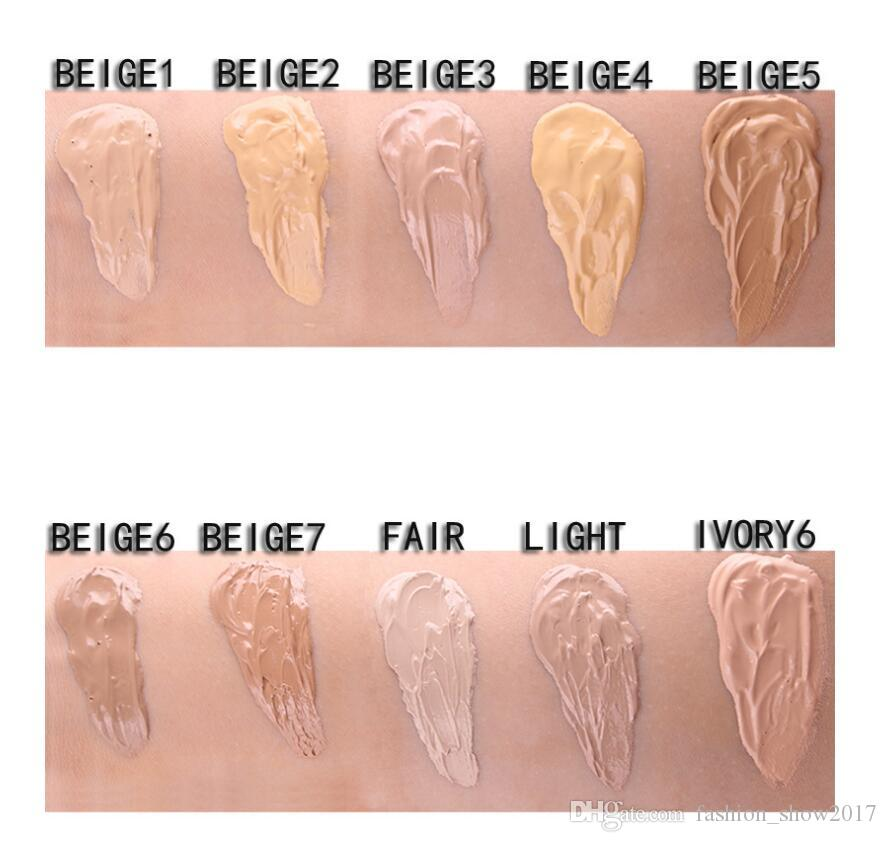 MISS ROSE Жидкая основа для лица Жидкая основа BB Крем Корректор Отбеливающий увлажняющий крем Гладкий макияж Матово-желтый Косметический макияж для лица