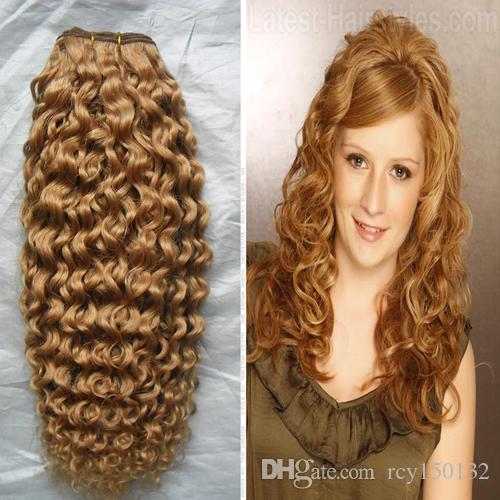 YUNTIAN HAIR Brazilian Curly Weave Human Hair Extensions 10 - 26inch Remy Hair Weft Malaysian Indian
