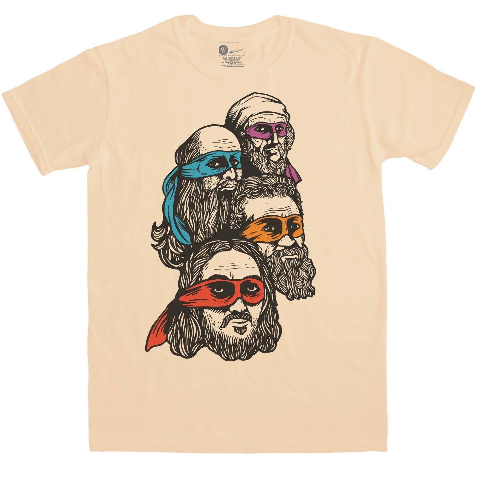 aae150b343 Compre Ninja Renacimiento Tortugas Camiseta Divertido Envío Gratis Unisex  Casual Camiseta De Regalo A  12.96 Del Tee spirit