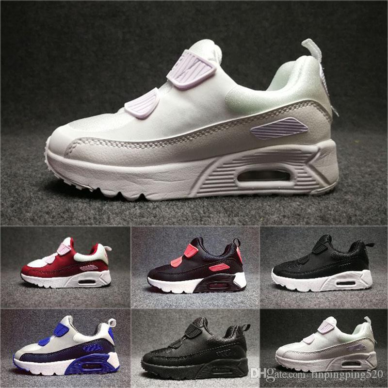 Nike air max 90 Kinder Turnschuhe Schuhe Presto 90 II Kinder Sport Orthopädische Jugend Kinder Turnschuhe Infant 90 Mädchen Jungen Outdoor Schuhe 8