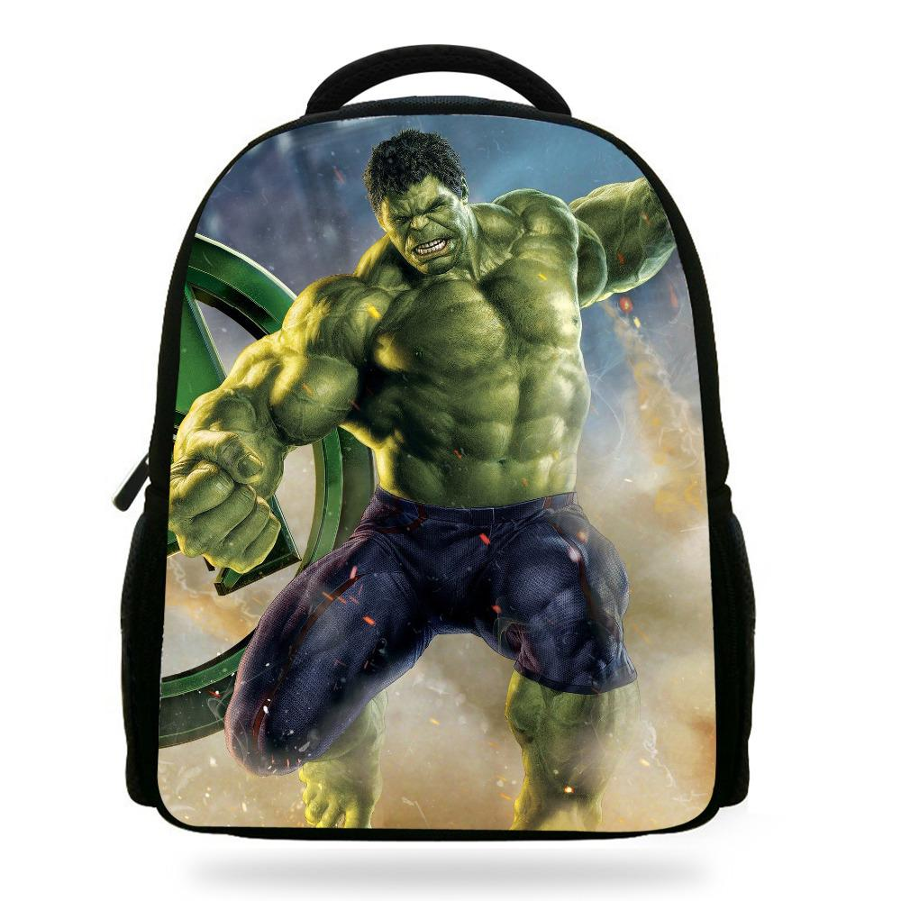 bb3f610cfa 14Inch Cooler Children Printing Backpack The Avengers Hulk Bag For Kids  Boys Girls Teenagers Y18100804 Small Backpacks Drawstring Backpack From  Shenping01