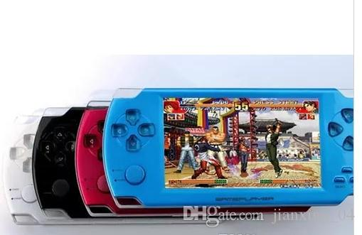 4GB/8GB 4.3 Inch PMP Handheld Game Player MP3 MP4 MP5 Player Video FM Camera Portable Game Console