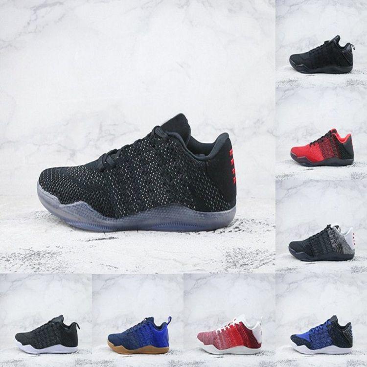1129220ca28 2018 High Quality Kobe 11 Elite Men Basketball Shoes Kobe 11 Red ...