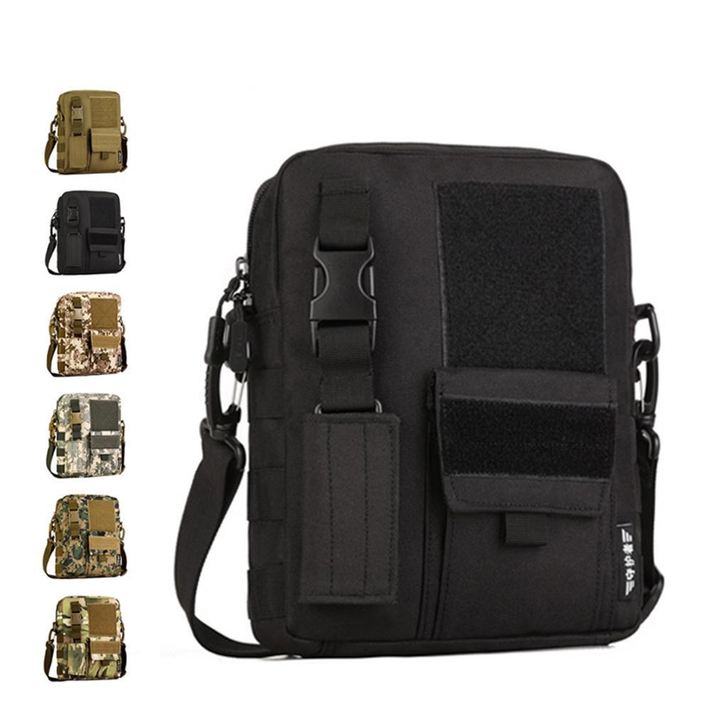 2019 Tactical Messenger Bag MOLLE Multi Functional Waterproof Single Shoulder  Bag Crossbody Bag For Hiking Climbing Camping From Evertoner pro