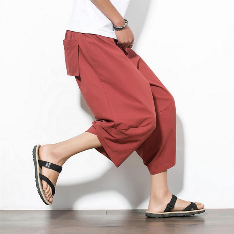 40ed3fb177d 2018 Hot Sale 2018 Autumn Plus Size Hip Hop Harem Pants Men Casual Loose  Trousers Drawstring Joggers Black M 5xl From Yolkice