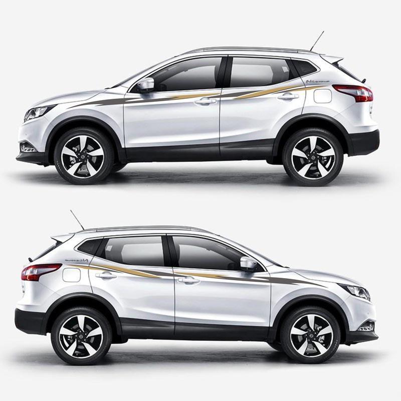 2019 Taiyao Car Styling Sport Car Sticker For Nissan Qashqai Car